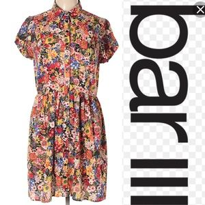 Bar III floral 🌺 favorite button up dress